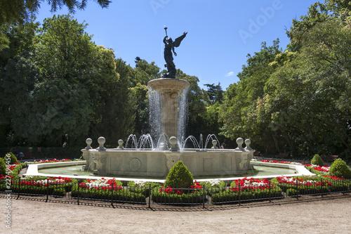 Fuente de la Fama del parque Campo Grande de Valladolid