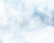 ブルーの雲背景