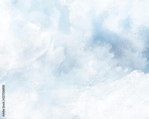 Tela ブルーの雲背景