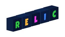 Relic - Multi-colored Text Wri...