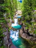 A gorge in the Paneveggio park in Trentino, Italy