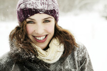 Portrait Of Smiling Woman On F...