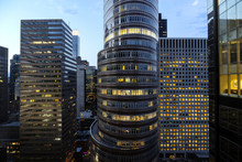 Illuminated Office Buildings I...