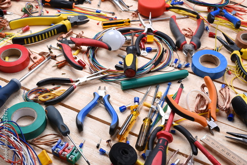 Electrician tool and component