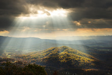 Scenic View, Shenandoah National Park, Virginia, USA