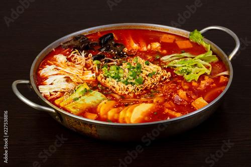 Fotografie, Obraz  Korean hot pot