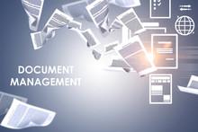 Document Management Concept, G...