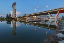 Benjamin Sheares Bridge At Mor...