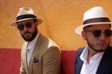 Two Sharp Looking Men With Hat...