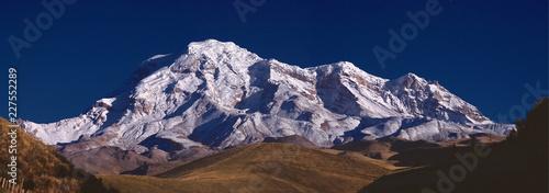 Panoramic of the Chimborazo