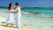Couple on Dream Vacation Island