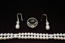 Jewelry - Earrings, Rings, Pearl Bracelet