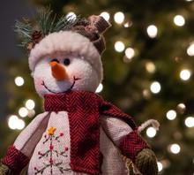 Christmas Snowman Plush
