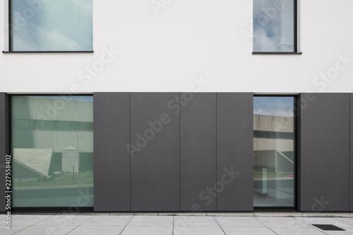 facade apartment building