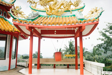 Large Chinese Temple Complex D...