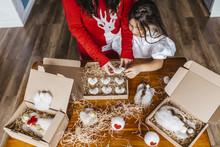 Christmas Preparations At Home