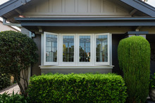 Bay Window With Leadlight Window