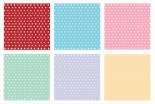 Red Greenmint Purple Blue Pink Yellow Dot Vector