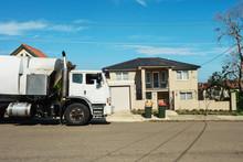 Rubbish Truck, Sydney Australia
