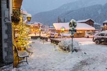 Alpine Village Under The Snow....