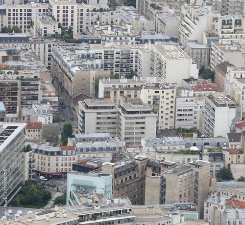 In de dag Centraal Europa many buildings of a city
