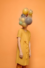 Incognito With Balloon Head