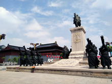 Chinese Soldiers Memorial. Yan...