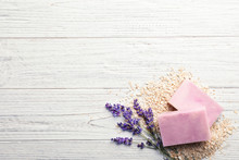 Handmade Soap Bars, Oatmeal An...