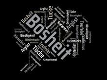 Das Wort - Bosheit - Abgebilde...