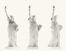 White Statue Of Liberty Set, N...