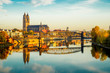 canvas print picture - Magdeburg an der Elbe