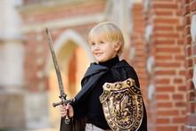 Portrait Of A Cute Little Boy ...
