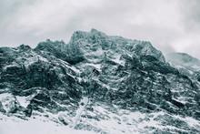 Closeup Of Dramatic Snow-Cover...