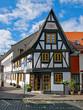 In der Altstadt von Frankfurt Hoechst, Hessen, Deutschland