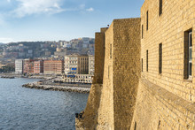 Naples From The Height Castel Dell Ovo, Italy