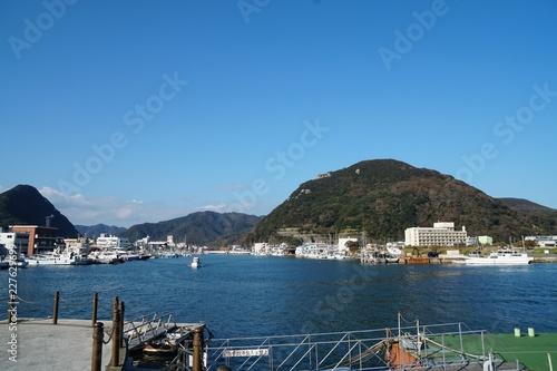 Plakat Shimoda Harbour