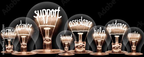 Foto Light Bulbs Concept