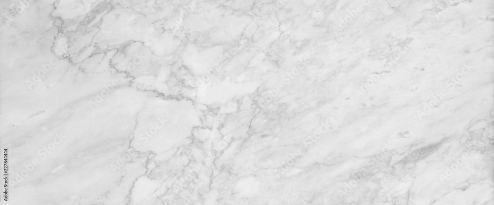 Fototapeta White marble texture background, abstract marble texture (natural patterns) for design.