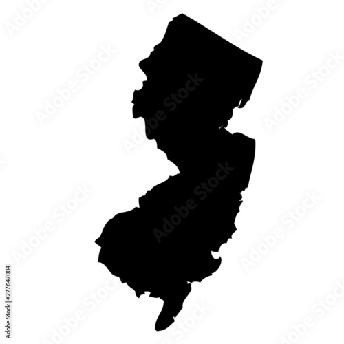 Fotografía New Jersey - map state of USA