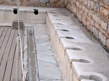 Public Multi-seat Toilet At Sp...