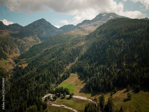 Foto op Aluminium Alpen alps roads