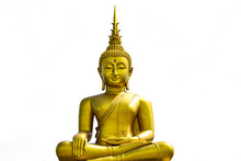 Golden Buddha Statue From Thai...