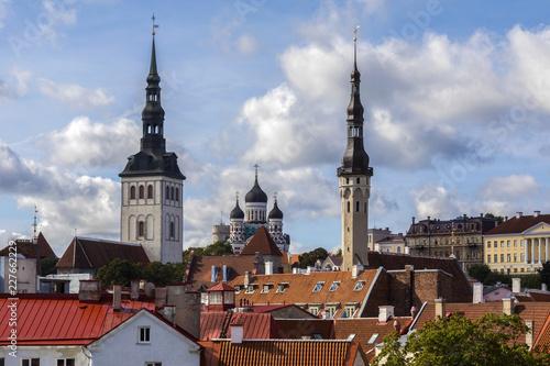 Photo  Skyline of Tallinn - Estonia