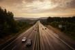Schlechwetter-Autobahn