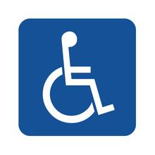 Handicap Or Wheelchair Person Symbol