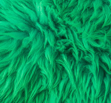 Modern Green Soft Hairy Animal...