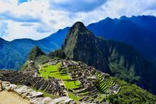 MACHUPICCHU INCA CIUDAD ANDES PERU