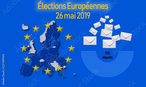 Valokuva  144lections au parlement europérn