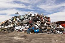 Metal Junk Pile