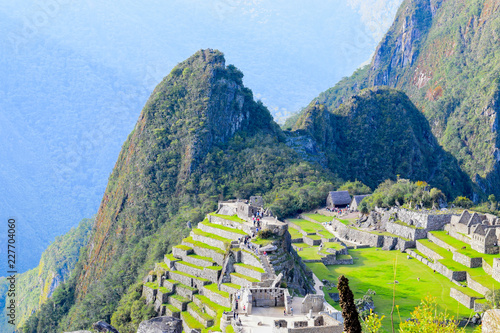 Photo Stands South America Country MACHU PICCHU MARAVILLA INCA ANDES CUSCO PERU
